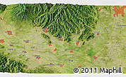Satellite 3D Map of Yūki