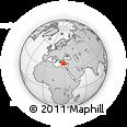 Outline Map of Nimar Villaggio, rectangular outline