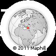 Outline Map of Kalamar Beach Club, rectangular outline