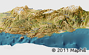 "Satellite Panoramic Map of the area around 36°19'55""N,29°49'30""E"