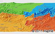 Political 3D Map of Blida