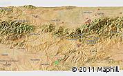 Satellite 3D Map of Blida