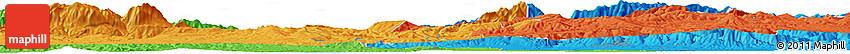 Political Horizon Map of Blida