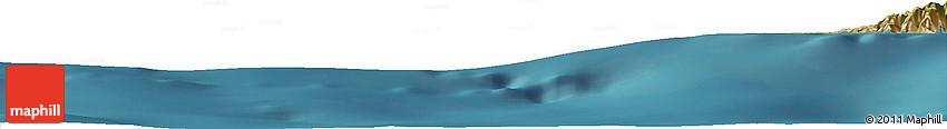 """Satellite Horizon Map of the Area around 36° 19' 55"""" N, 31° 31' 29"""" E"""