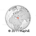 """Outline Map of the Area around 36° 19' 55"""" N, 31° 31' 29"""" E, rectangular outline"""