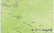 "Physical Map of the area around 36° 19' 55"" N, 39° 10' 29"" E"