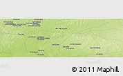 "Physical Panoramic Map of the area around 36° 19' 55"" N, 39° 10' 29"" E"