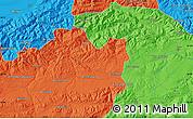 Political Map of Bouira