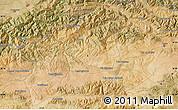Satellite Map of Bouira