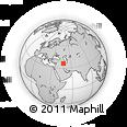 Outline Map of Qomchoqāy, rectangular outline