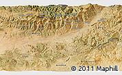 Satellite 3D Map of Aït Mislaïn