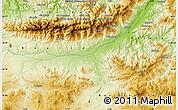 Physical Map of Aït Mislaïn