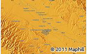 Political Map of Mashhad