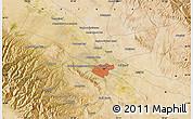 Satellite Map of Mashhad