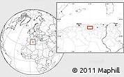 Blank Location Map of Sétif