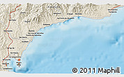 Shaded Relief 3D Map of Gibraltar