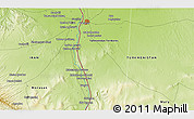 """Physical 3D Map of the area around 36°19'55""""N,61°16'29""""E"""