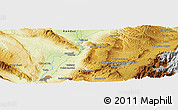 Physical Panoramic Map of Shūrāb
