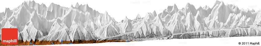 Physical Horizon Map of Hunza