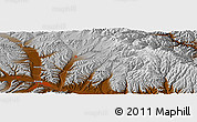 Physical Panoramic Map of Xining