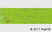 Physical Panoramic Map of Handan