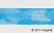 Political Panoramic Map of Handan