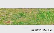 Satellite Panoramic Map of Handan