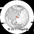 Outline Map of Camp Humphreys, rectangular outline