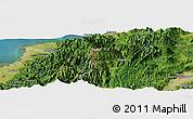 "Satellite Panoramic Map of the area around 36°47'25""N,137°46'30""E"