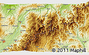 Physical 3D Map of Akinari