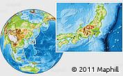 Physical Location Map of Akinari