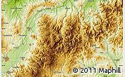 Physical Map of Akinari