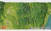 Satellite 3D Map of Ujiie