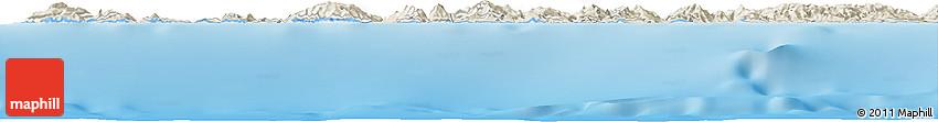 Shaded Relief Horizon Map of Bel Lezhar