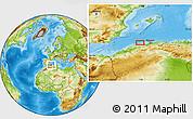 Physical Location Map of Bel Lezhar