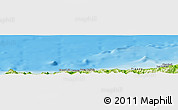 Physical Panoramic Map of Sidi Ghiles