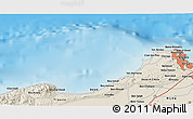Shaded Relief 3D Map of Algiers