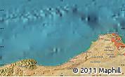 Satellite Map of El Mouradia