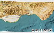 Satellite 3D Map of Roquetas de Mar