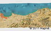 Satellite 3D Map of Assouaf