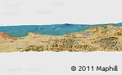 Satellite Panoramic Map of Assouaf