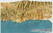 Satellite 3D Map of Motril