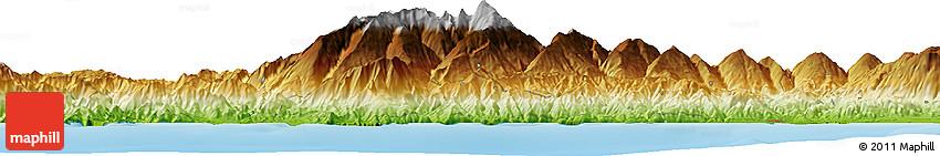 Physical Horizon Map of Salobreña