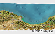 Satellite 3D Map of Beni Embarek
