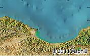 Satellite Map of El Gueroua