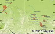 Physical Map of Yūsof Mīrzā'ī