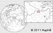Blank Location Map of Asīā-ye Fīrqah