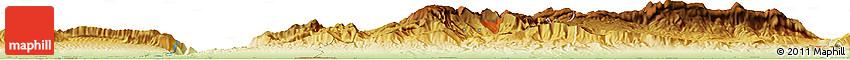 Physical Horizon Map of Mazār-e Sharīf