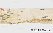 Satellite Panoramic Map of Mazār-e Sharīf