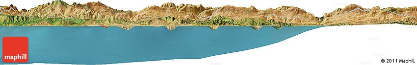 Satellite Horizon Map of Douar Ouled Kâssem
